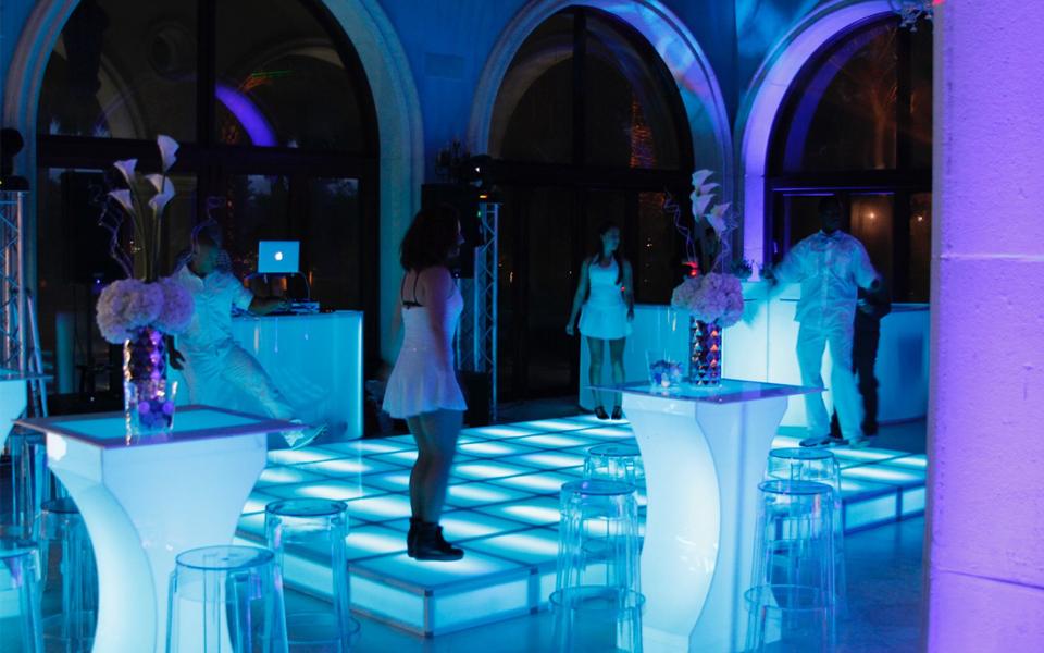 Acrylic led dance floors