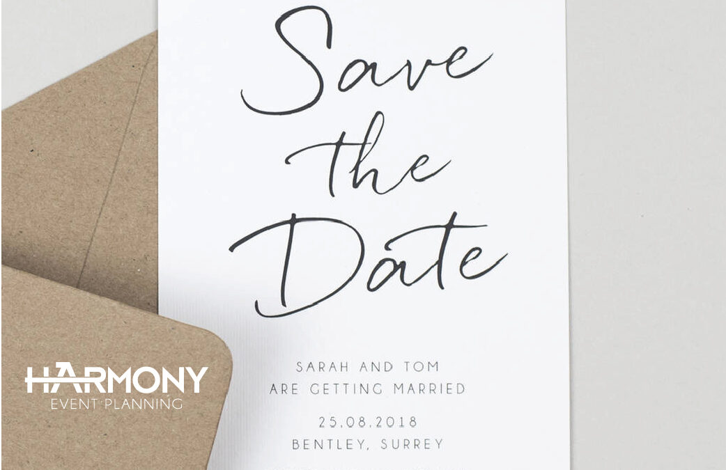 Why is important send a save-the-date card?