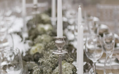 Create a magical atmosphere with candles