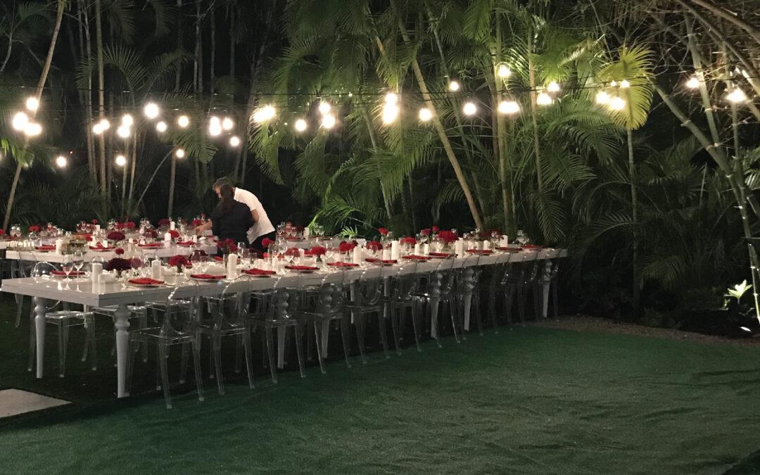 Weddings in the Greenery style
